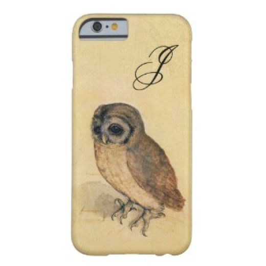 albrecht_durer_the_little_owl_monogram_iphonecase-r34d6ff403a8844dd86557d239b425301_zz0f5_325