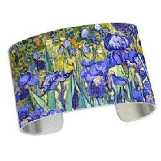 Blue Irises Bracelet