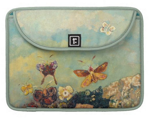 Odilon Redon Butterflies Vintage Symbolism Art MacBook Pro Sleeve ...