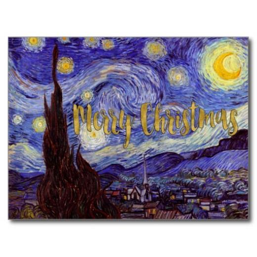 van_gogh_starry_night_gold_faux_foil_christmas_postcard-r4edcacb585c6478bb0b5d984d8912d6c_vgbaq_8byvr_512