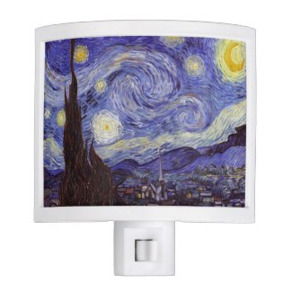 Vincent Van Gogh Starry Night Night Light